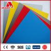 耐火性の倍PVDFの上塗を施してあるアルミニウム合成の装飾的なパネル