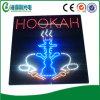 Signe d'intérieur du narguilé LED de nouveau de conception signe électronique de narguilé