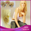O cabelo euro-asiático reto do Virgin 613# V-Derruba a extensão italiana do cabelo da queratina
