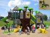 Установленная спортивная площадка напольных детей цветастой доисторической серии Kaiqi среднего размера (KQ50020A)