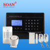 ¡Sistema de seguridad casero! G/M sin hilos Security Alarming Apparatus Alert System Panel Monitoring Burglar Alarm para Home/School/Garage/Warehouse Soan Sn5