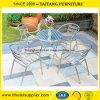 Tabela e cadeira ao ar livre de alumínio de dobramento da venda