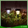 屋外のステンレス鋼LEDの無定形のケイ素のRechargebaleの太陽経路の方法ライト白く暖かく白い庭の芝生の景色の照明