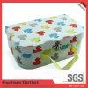 Caja de regalo de papel de empaquetado al por mayor de la maleta del surtidor de China