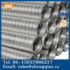 Conduit ondulé galvanisé par matériau de tôle en métal