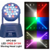 최신 Sale LED 24PCS*3W Moving Head Beam Light
