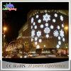 Weißes LED-Schneeflocke-Einkaufszentrum-dekoratives Wand-Licht