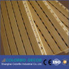 MDF акустической панели деревянного тимберса Grooved ядровый