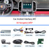 Touareg 8  Support DVR、Rearview Camera、WiFi、Touch Controlの人間の特徴をもつNavigation Video Interface Compatible