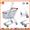 Gute Qualitätsmetall, das Einkaufen-Laufkatze (ZHt233, übergibt)