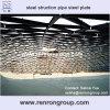 SGS bestätigte industrielles Stahlaufbau-Rohr-Stahlplatte L-02