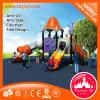Campo de jogos plástico ao ar livre da corrediça plástica ao ar livre das crianças