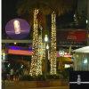 Luzes ao ar livre do grampo do Natal para a decoração da árvore