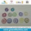Шнур бумажных зажимов цветастой круглой спиральн формы модный круглый