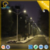 10m 100W Solar Street Lighting com Double Arms