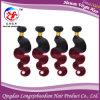 Соткать волос Ombre выдвижения волос 2 тонов бразильский (HBWB-A626)