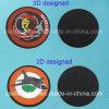 Het rubber Flard van pvc met Klitband op Rug voor Decoratie