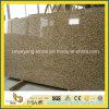 Plak van het Graniet van de Huid van de tijger de Gele voor Countertop of het Bedekken
