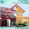 La casa prefabricada certificada ISO de la alta calidad dobla el cuento