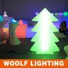 Luzes musicais sem fio ao ar livre da árvore de Natal do diodo emissor de luz