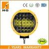 9  LED円形ライト96W 4D作業ランプ