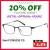 Het volwassen Frame van /Optical Eyewear/Eyewear van het Frame van het Metaal Optische