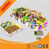 Campo de jogos colorido do HDPE, campo de jogos durável do aço inoxidável para crianças