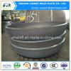 炭素鋼圧力タンクヘッド管付属品のエンドキャップ