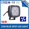 Luz de advertência do ponto azul do Forklift, luz do trabalho do diodo emissor de luz do CREE 15W
