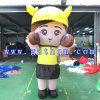 歩くActivity Inflatable CartoonかCute Little Girl Inflatable Cartoon