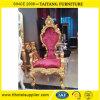 Verbindungs-Luxus 2016, der goldenen König Throne Chair verziert