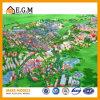 Modelos de planeamento da zona/modelo do edifício/de modelo/projeto bens imobiliários modelos do modelo/exposição do edifício