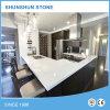 Tecto de cozinha de quartzo branco pré-fabricado