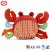 Het krab Gevulde Stuk speelgoed van de Verkoop van de Pluche van de Baby van de Stof Snoezige Zachte Hete