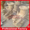 Antikes Granit-Marmor-Skulptur-Schnitzen/Garten Carving/Flowerpot
