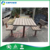유일한 Design Street Furniture Outdoor Metal Frame Plastic Wood Picnic Table 및 Bench (FY-047H)