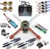 4 der Mittellinien-RC multi Quadcopter der Leiterplatte-1000kv Rahmen-Installationssatz 6CH Tx Rx F02192-a Drohne rtf-Arf Kk V2.3 Motor30a ESC-Lipo F450