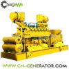 Turbina de gás do motor do biogás da central energética do biogás que gera o jogo