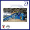 Machine semi-automatique hydraulique de presse de foin de paille de presse