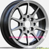 bordas da roda de carro da liga de alumínio de 13*5.5inch 14*6j 15*6.5