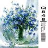 Schilderijen van de Bloemen van Paintboy DIY de Digitale Mooie door Aantallen op Nieuw Canvas