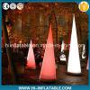 De hete Kegels van de Decoratie van de Partij van de Verkoop Kleurrijke Opblaasbare met Kleur die LEIDEN Licht voor Verkoop ruilt