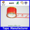 Lateral cinta adhesiva impermeable impresa solo color de BOPP