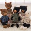 Orso su ordinazione dell'orsacchiotto dei giocattoli della peluche della fabbrica