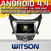 Hyundai Elantra (W2-A7542)를 위한 Witson Android 4.4 System Car DVD