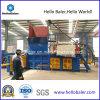 Automatische Hydraulische het In balen verpakken Machine (Horizontaal Type)