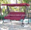 Deluxer 3 Seater Patio-Garten-Schwingen-Stuhl/Bett mit 2 Kissen
