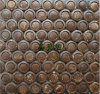 Noce di cocco Mosaic/Mosaic Art/Coconut Shell Mosaic per Wall Tile
