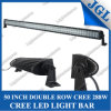 50 duim 288W Double Row CREE LED Bar Lighting