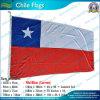 90X180cm 160GSM Spun Polyester o Chile Flag (NF05F09033)